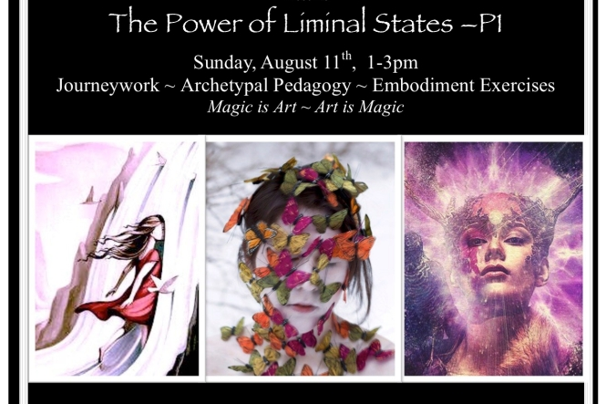The Power of Liminal States - Flyer III